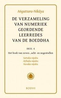 Boek de verzameling van numeriek geordende leerredes van de boeddha