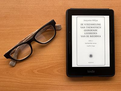 De Nederlandse vertaling van de Samyutta-Nikaya deel 1 op een Kindle